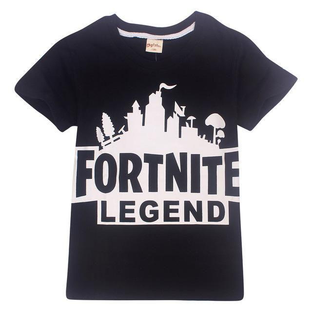 1ec1f9b30 2018 New Fortnite t shirt 100%Cotton Cartoon Children's clothing Casual  Summer Tops Boys Girls Roblox Kids fornite T Shirt tees