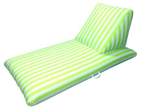 Drift And Escape Pool Chaise Lounge Lime Green Luxury Fabric Swimming Pool Float Morgan Dwyer Signature Series Swimming Pools Lounge