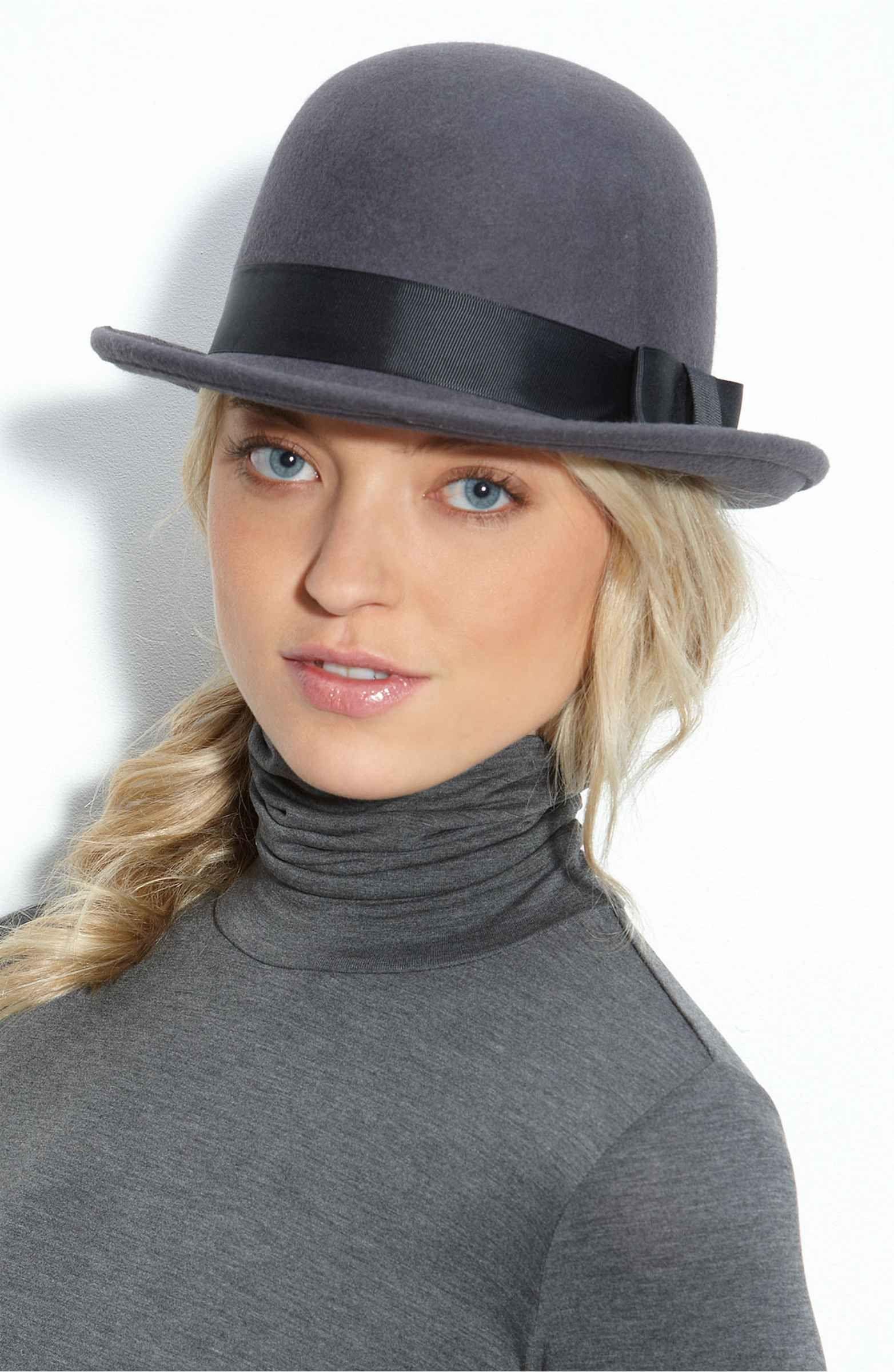 948393b3e7 Tarnish Wool Bowler Hat