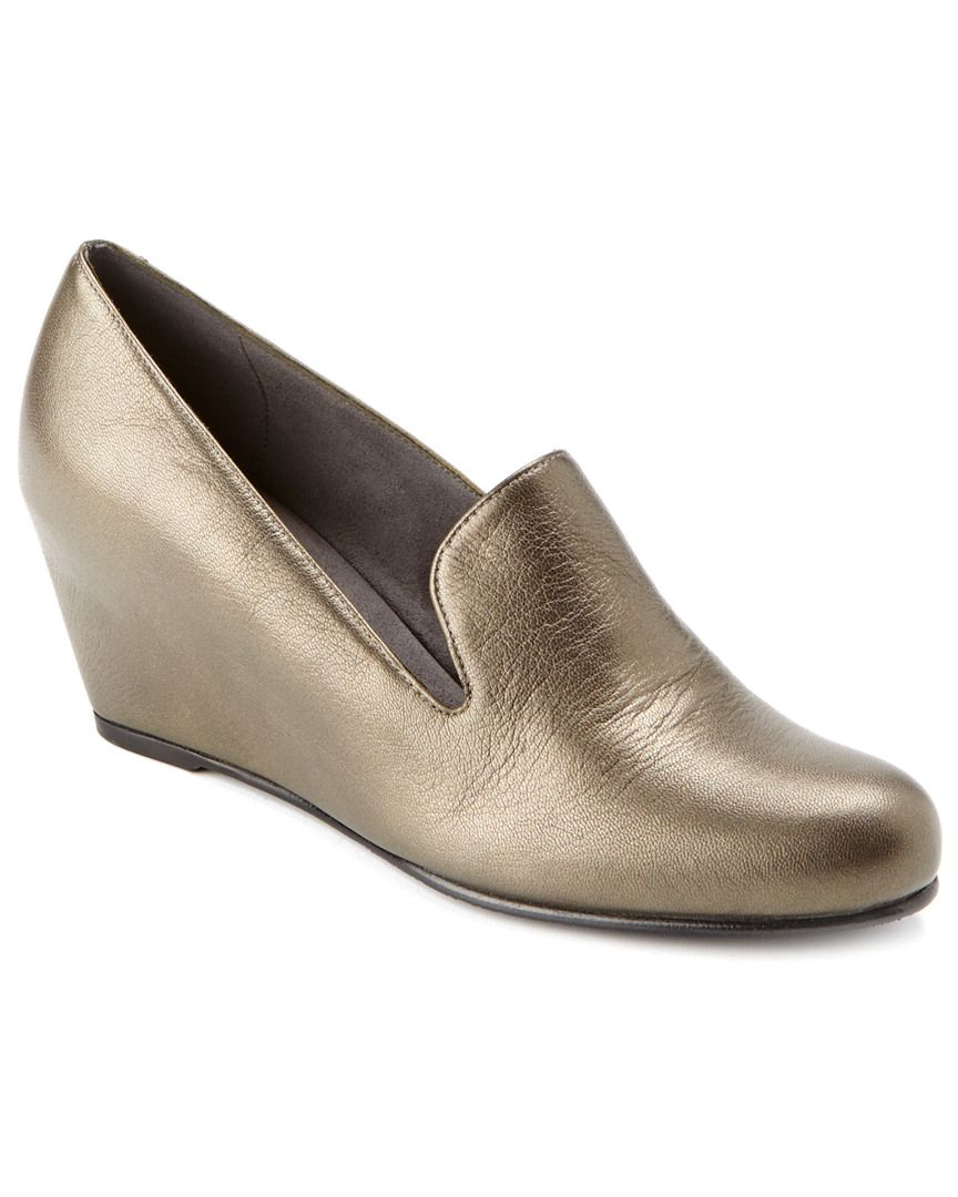 Stuart Weitzman Arise Leather Wedge is on Rue. Shop it now.