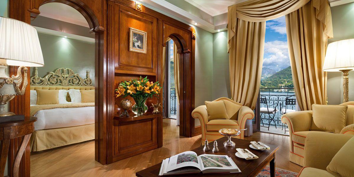 Luxury Historic Suites 5 Stars Hotel Lake Como Grand Hotel