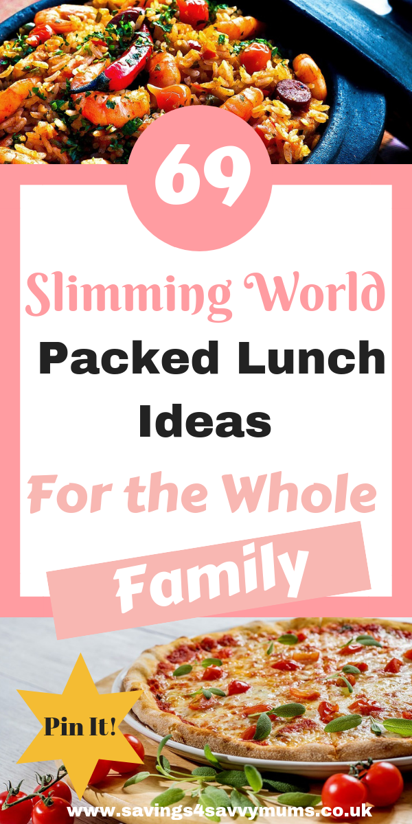 Here are 69 Slimming World packed lunch ideas that the whole family will love These Slimming World lunch recipes are perfect for work and for on the go by Laura at Saving...