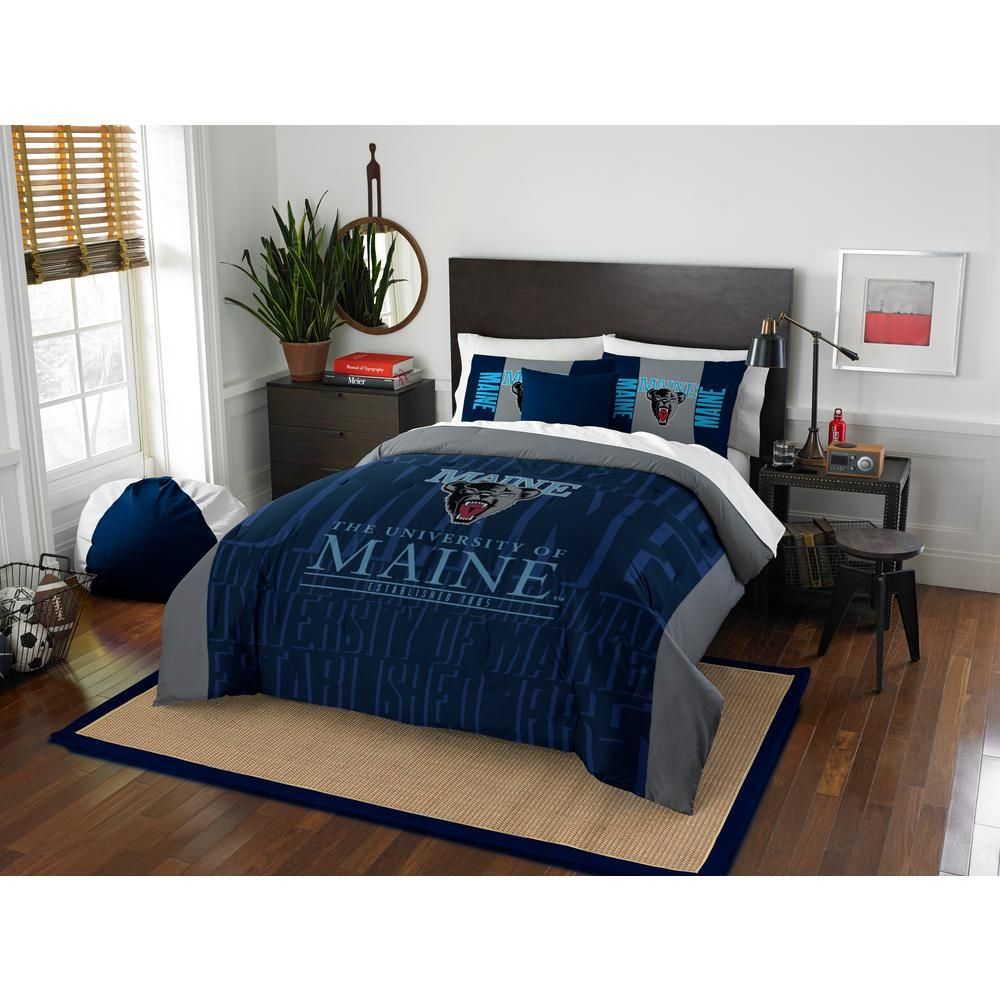Maine 3 Piece Multicolored Full Comforter Set 1col849000076ret