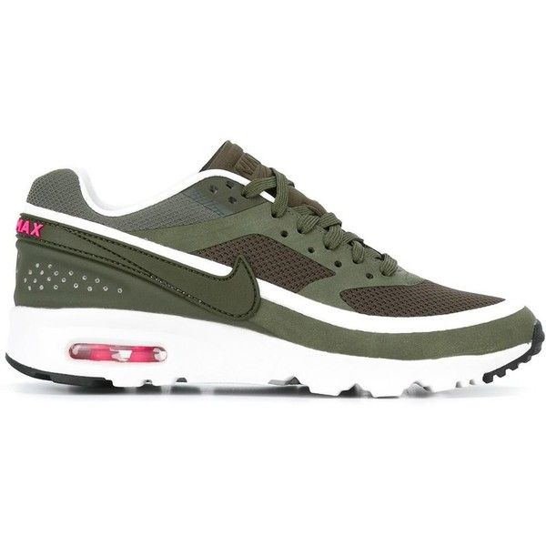 huge selection of d71f9 2ba7c Nike  Air Max BW Ultra  sneakers ( 145) ❤ liked on Polyvore featuring shoes,  sneakers, green, round cap, laced up shoes, round toe sneakers, nike  footwear ...