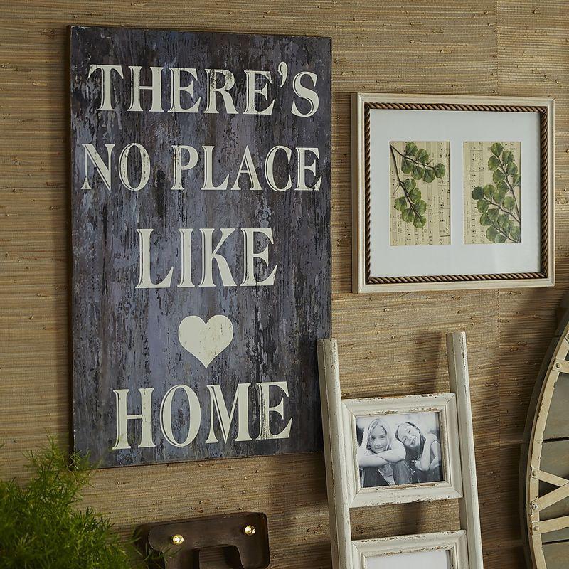 No Place Like Home Wall Decor