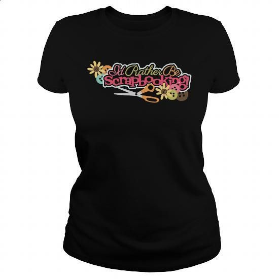 Scrapbooking - #blank t shirts #print shirts. BUY NOW => https://www.sunfrog.com/Funny/Scrapbooking-151447729-Black-Ladies.html?id=60505
