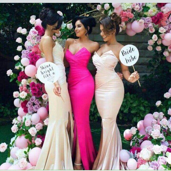 Tipo sirena escote corazón | Damas | Pinterest | Sirenitas y Damas