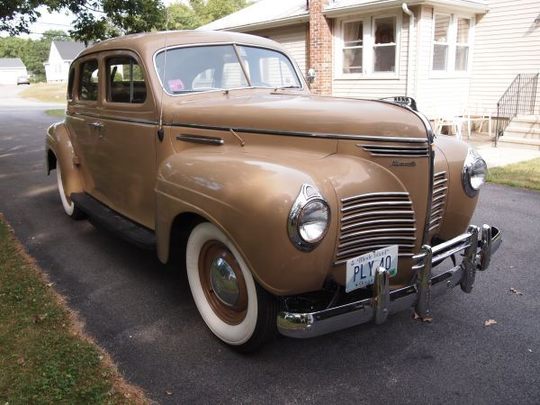 1940 Plymouth P 10 Classic Cars Plymouth Cool Cars
