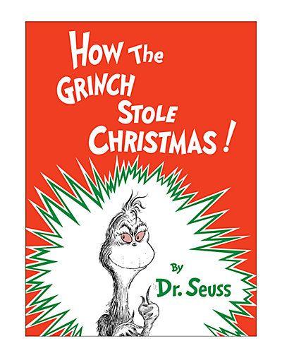 Random House 'Grinch' Book. 14th day of Christmas