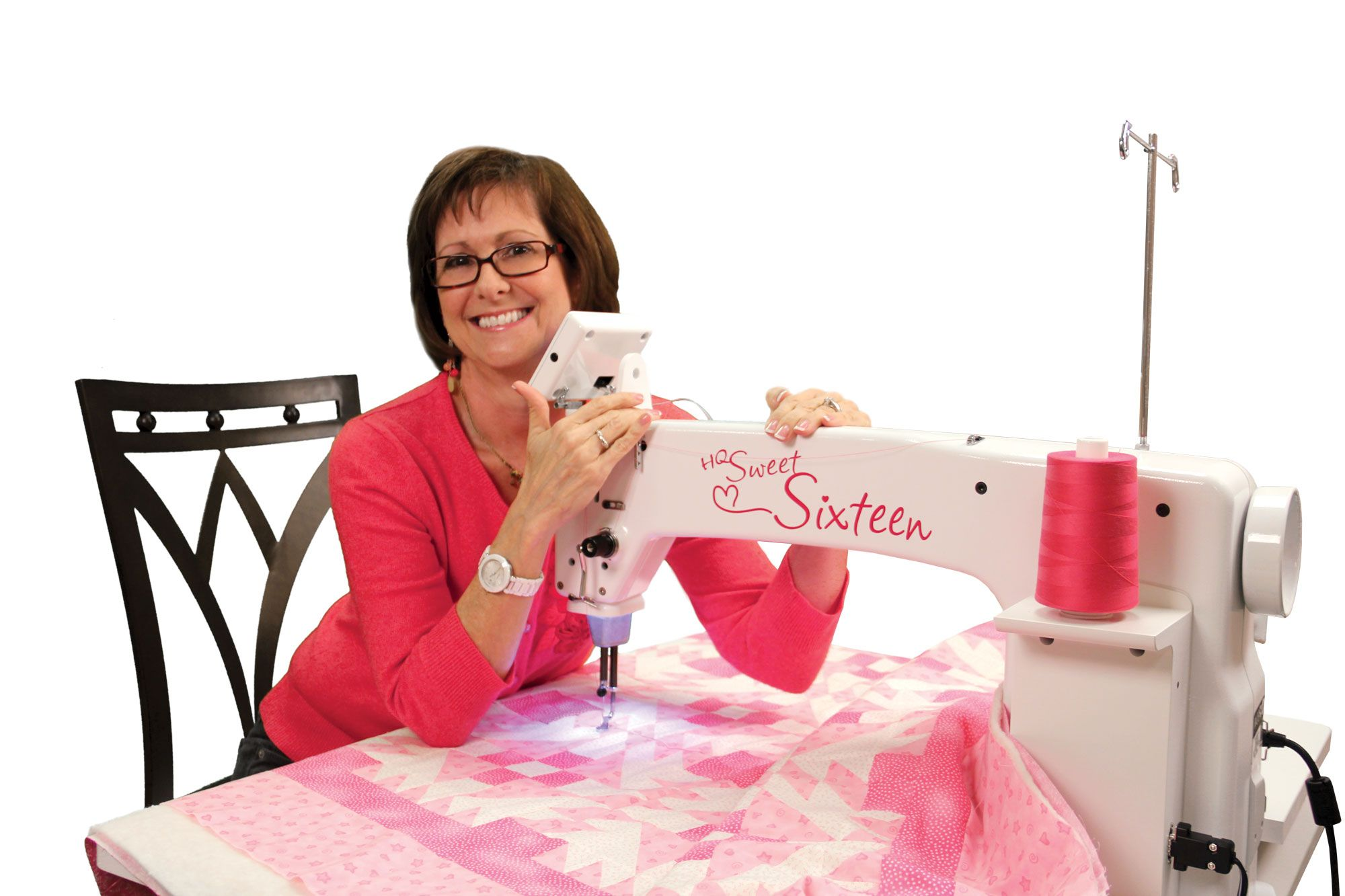 This Is The Newest Addition To My Sewing Machine Collection I M Waiting On Shipping I Can T Wait To Start Handi Quilter Sweet 16 Handi Quilter Sweet Sixteen