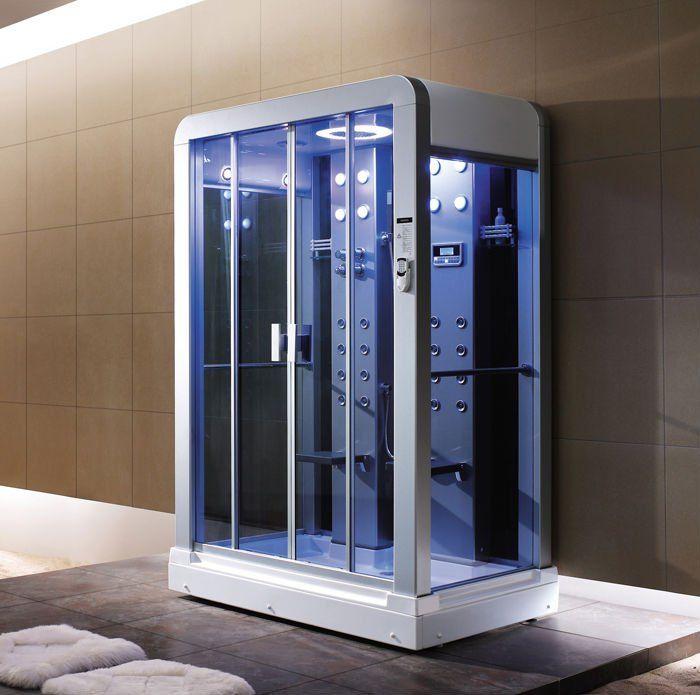 Steam Shower Cabin | Baño | Pinterest | Steam shower cabin, Shower ...
