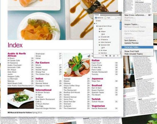 Index Adobe Indesign Tutorial 23 25 Useful Adobe Indesign Tutorials For Print Designers Adobe Indesign Tutorials Indesign Tutorials Indesign