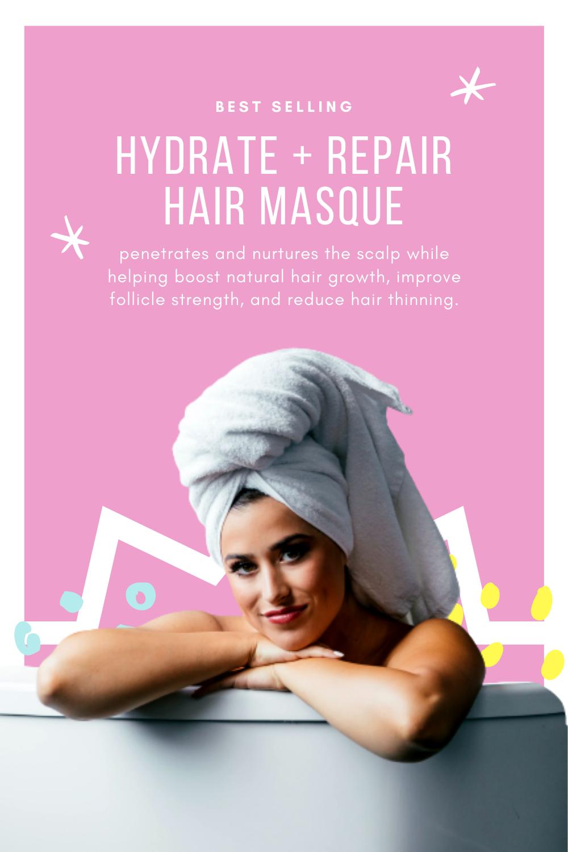 HYDRATE + REPAIR HAIR MASQUE