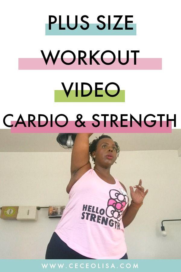 Photo of Plus Size Workout Video: Cardio, Strength & Hello Kitty – CeCe Olisa