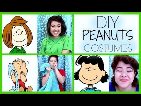 Diy Peanuts Charlie Brown Costumes Lucy Linus Peppermint Patty Halloween Yo Charlie Brown Halloween Costumes Charlie Brown Costume Peanuts Halloween Costume