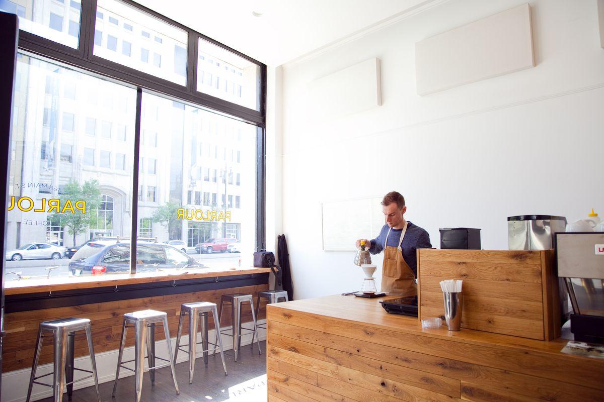 Kaper Design; Restaurant & Hospitality Design: Parlour Coffee | Bars ...