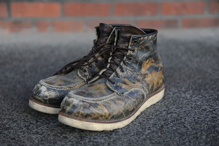 CAMO COOL_red wing shoes 8150 camouflage desert boots