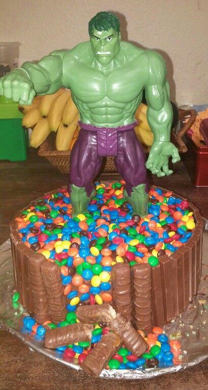 Hulk cake Jonathan Pinterest Hulk cakes Cake and Birthdays