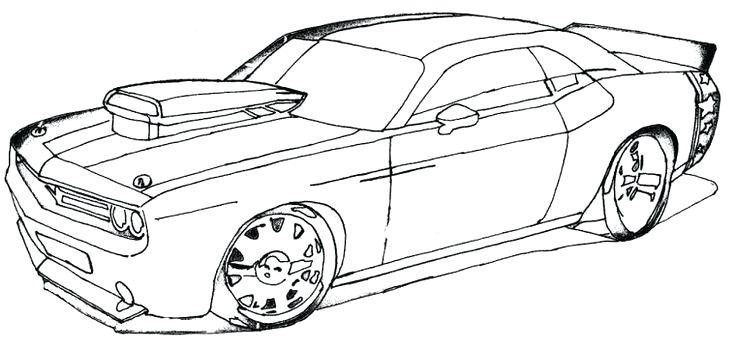 Coloriage De Voiture De Fast And Furious At Supercoloriage In 2020 Cars Coloring Pages Car Colors Race Car Coloring Pages
