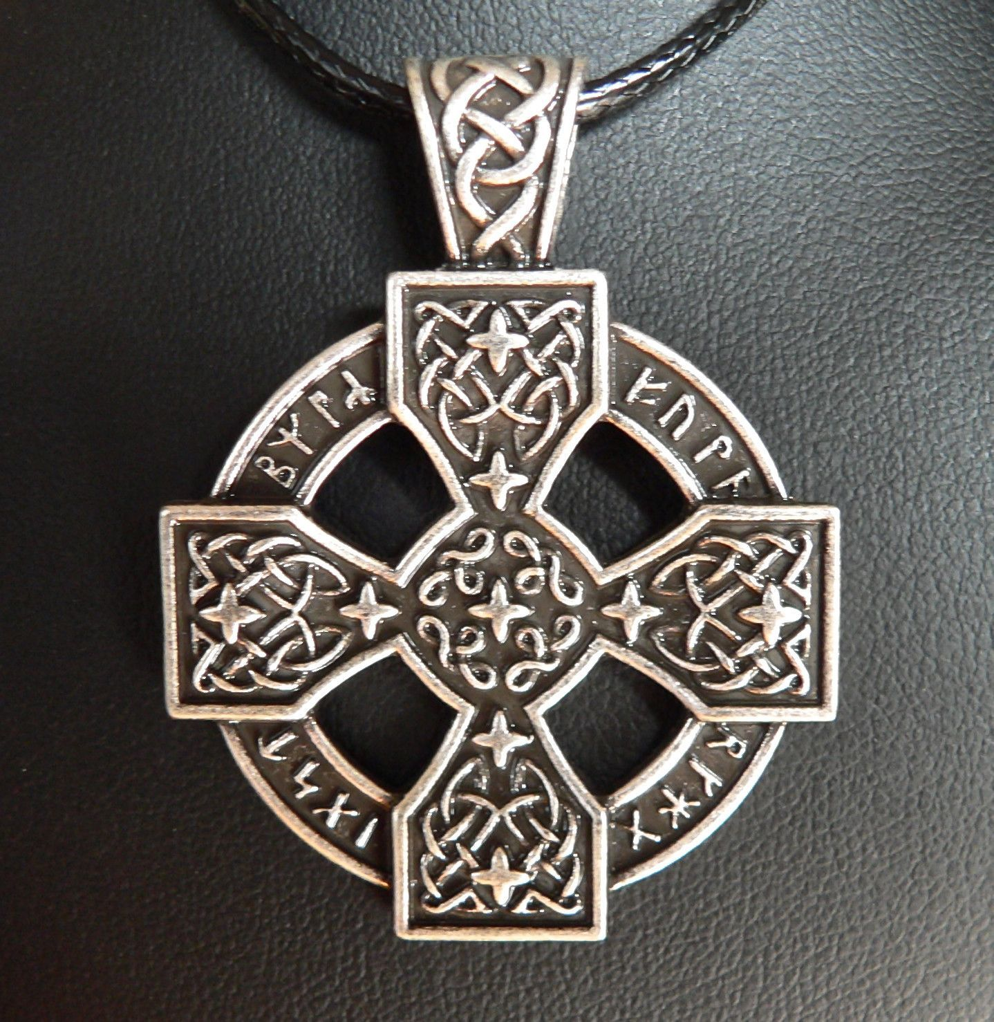 undead pendant viking warrior celtic necklace pin
