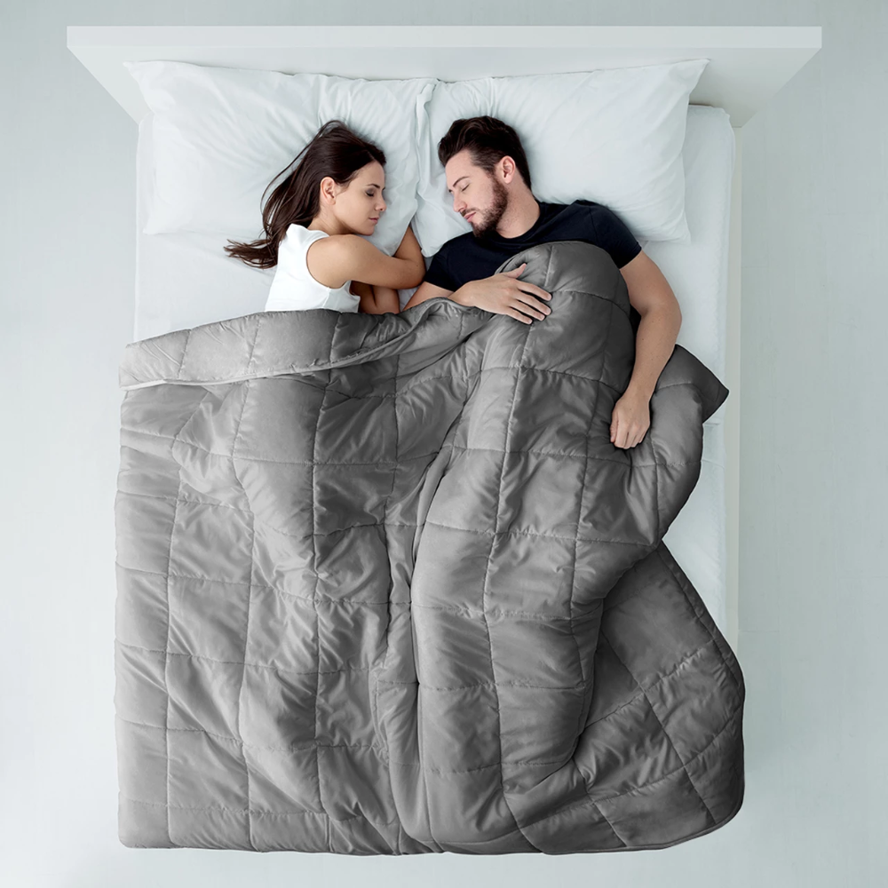 Best Weighted Blanket Apply Pressure To Improve Sleep Gives