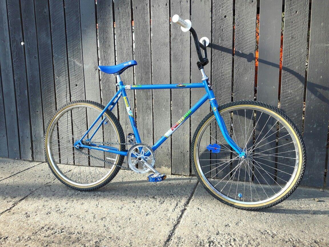 My 80 S Mountain Bike Single Speed Bmx Conversion Not Finished