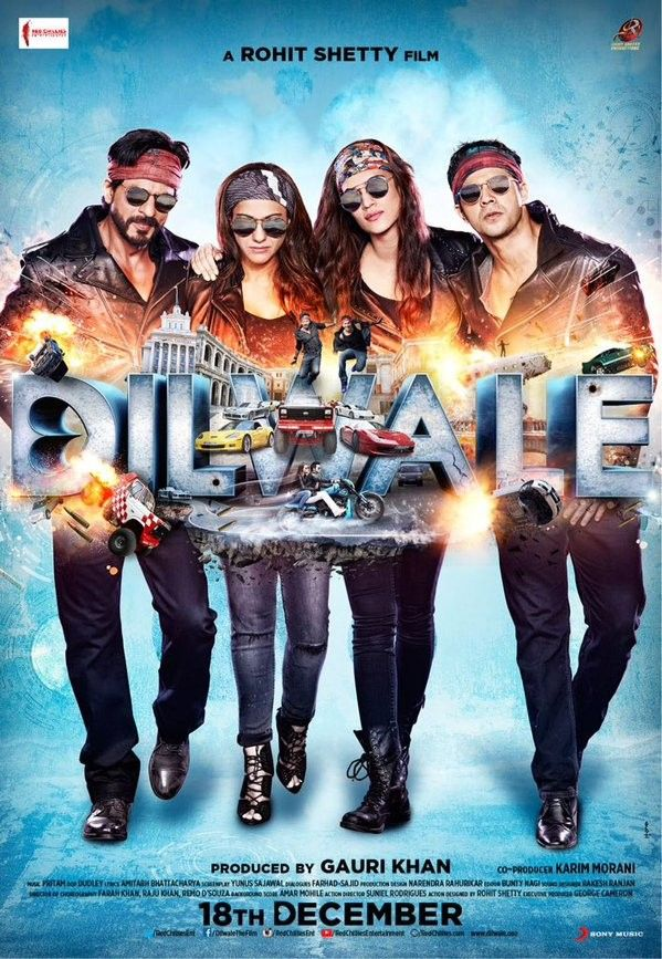 Watch Dilwale (2015) Full Hindi Movie Online Spartan