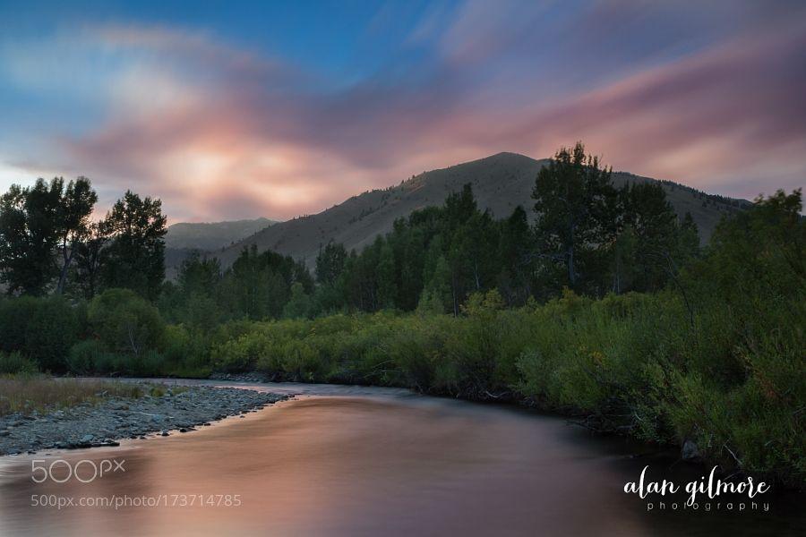 Smokey Sunset by Iam2alan