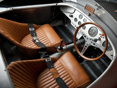 carinteriors:  1957 Tojeiro-MG Barchetta