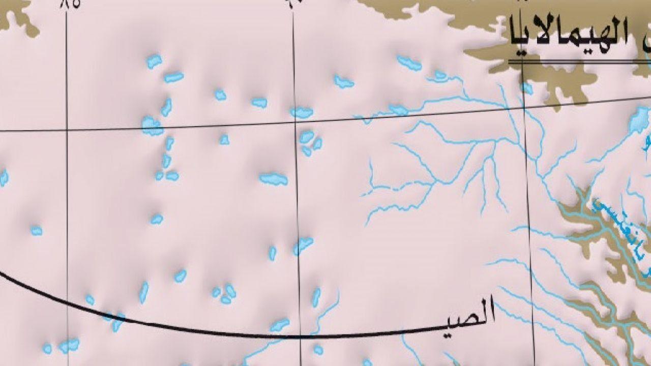 أين توجد جبال الهملايا Chart Himalayas Line Chart