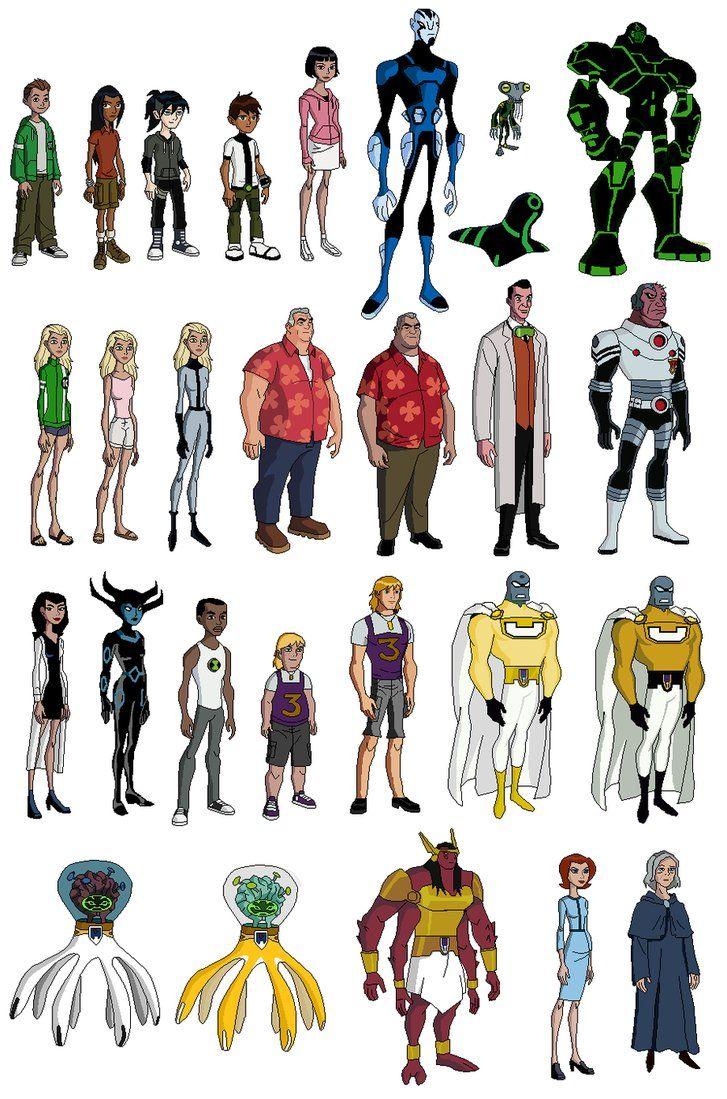 ben 10 other characters by brendanbass ben 10 pinterest ben 10
