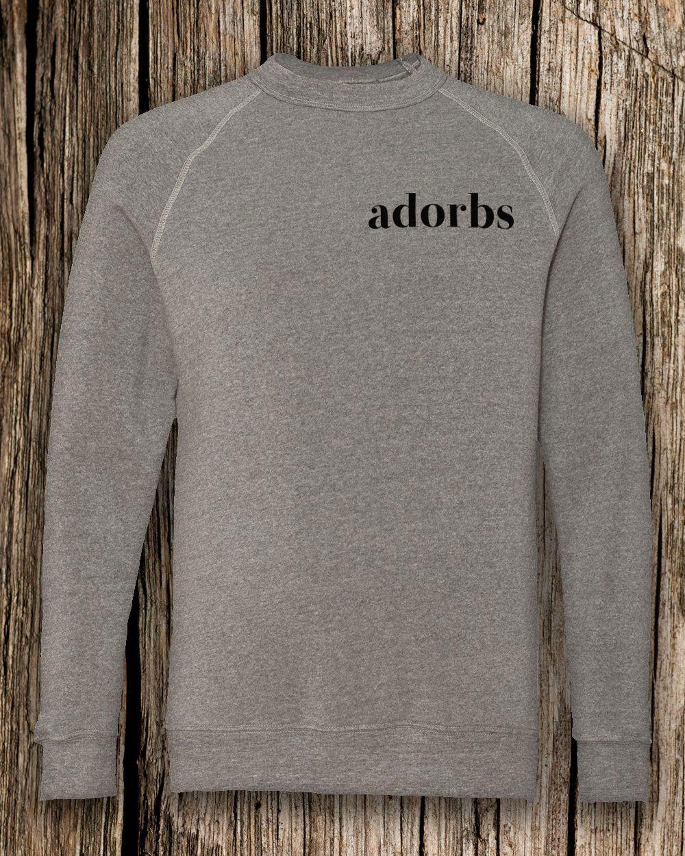 adorbs Eco-Fleece Crewneck Sweatshirt