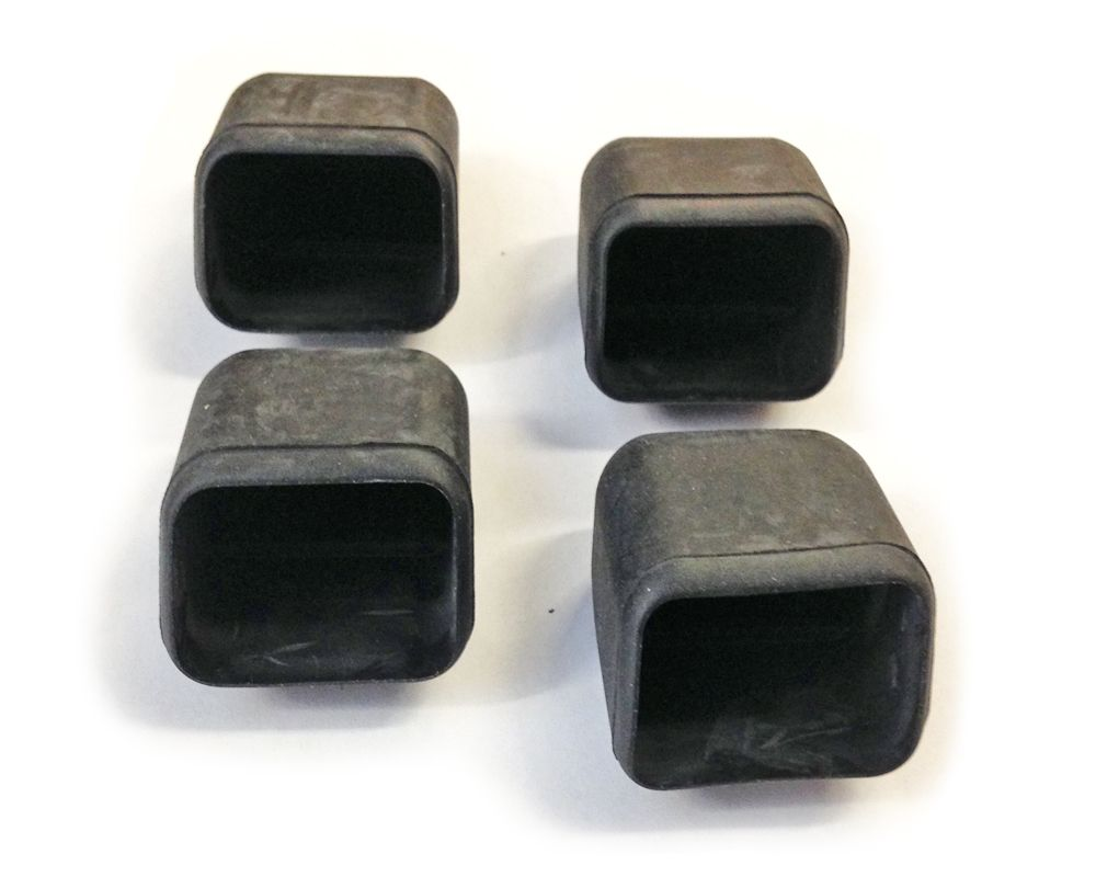 Inno Bar End Caps Closeout Set Of 4 Inno Bar End Caps Select From Either In885 Black Or In886 Silver Options Fits All Inno Square Cross Ba Cap Bar Silver