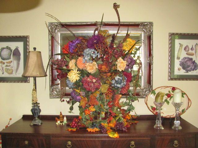 Fall '12 silk arrangment