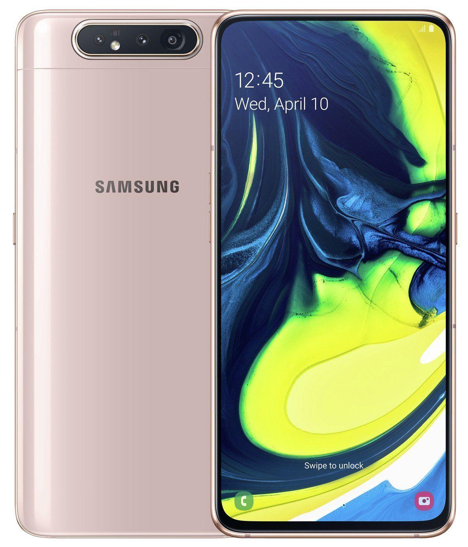 Buy SIM Free Samsung A80 128GB Mobile Phone – Gold | SIM free phones |