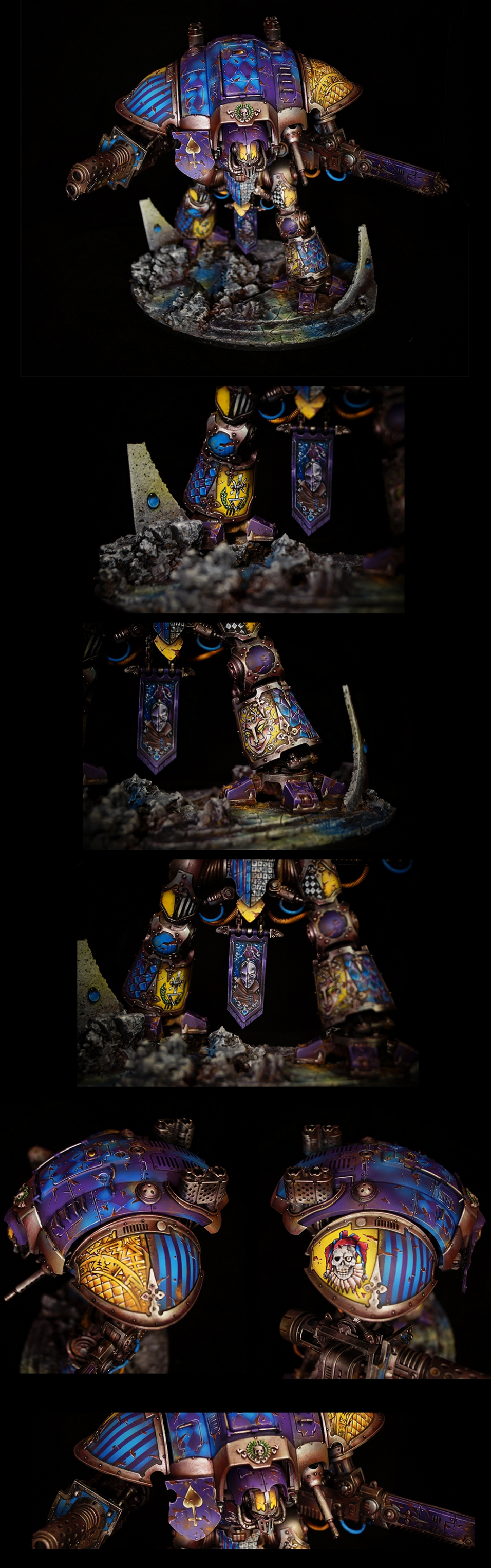 Imperial Knight - Harlequin Style no.1