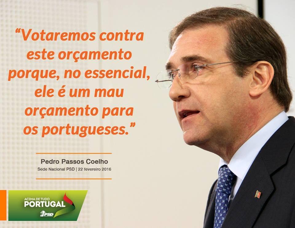 Pedro Passos Coelho, Presidente do Partido Social Democrata, em Conferência de Imprensa. #PSD #acimadetudoportugal