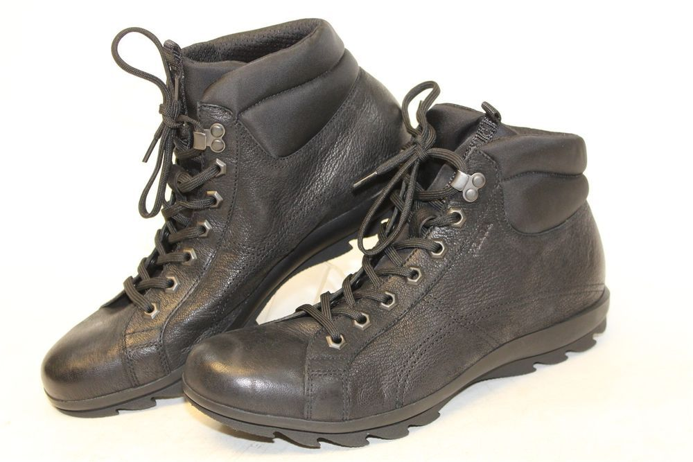 26a1e73eccb0 Prada NEW MISMATCH 8.5 7 Capra Mens Black Leather   Nylon Lugged Hiking  Boots p  fashion  clothing  shoes  accessories  mensshoes  boots (ebay link)
