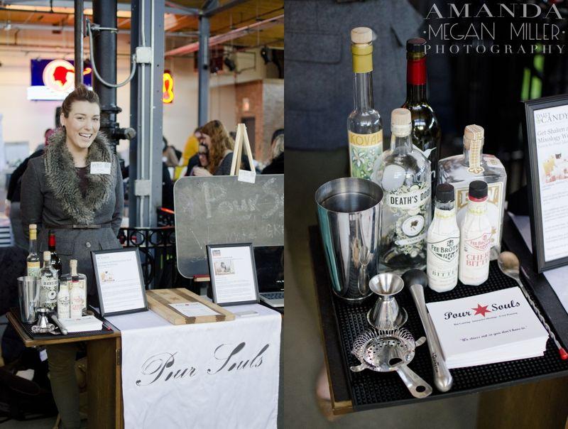 Bartending Vendor Booth Idea Bridal Show Booth Design