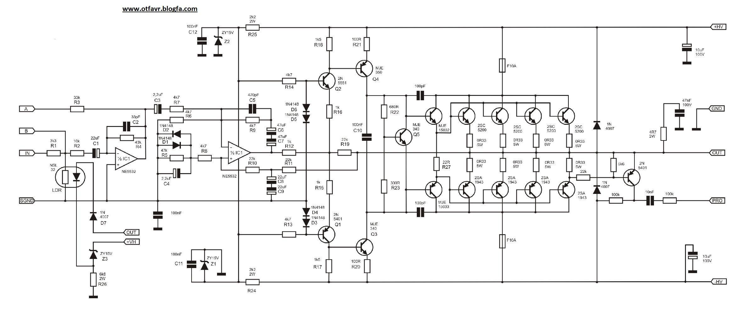 500w Power Amplifier Circuit Diagrams Nodasystech Com Tda2030 40w Diagram