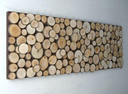 diy idea wood slice wall art is part of Metal tree wall art - DIY Idea Wood Slice Wall Art Wallart ForMen