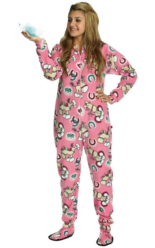 0dd938d7cc Horse footed pajamas