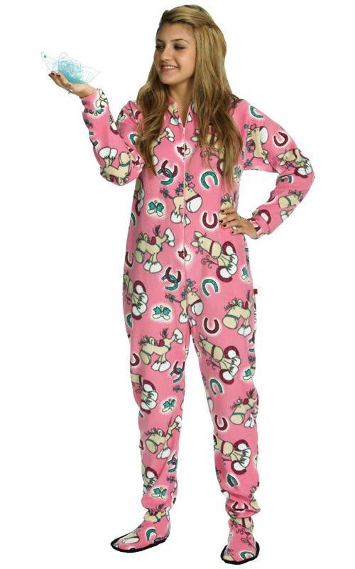 e5a15f8315 Horse footed pajamas