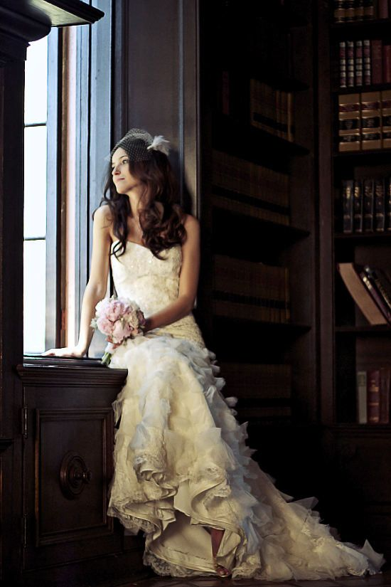 pretty bridal photo
