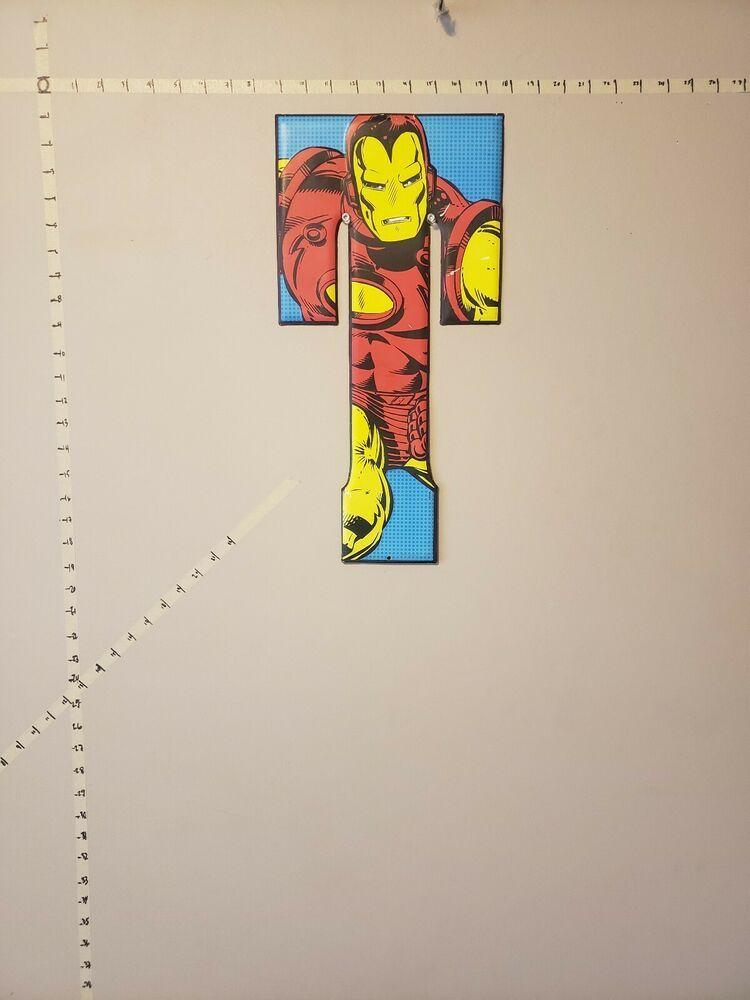 Iron manwall decorletter t wall decoration