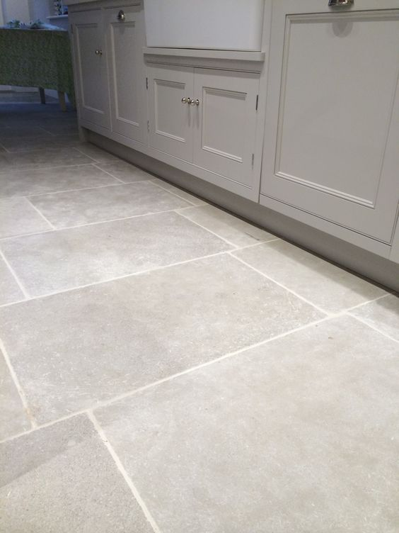 Morocco Grey Limestone Tile — post - Rock and Wood