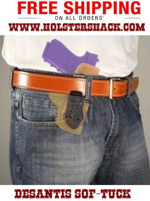 SOF-TUCK #106 is a new IWB/Tuck-able holster with adjustable