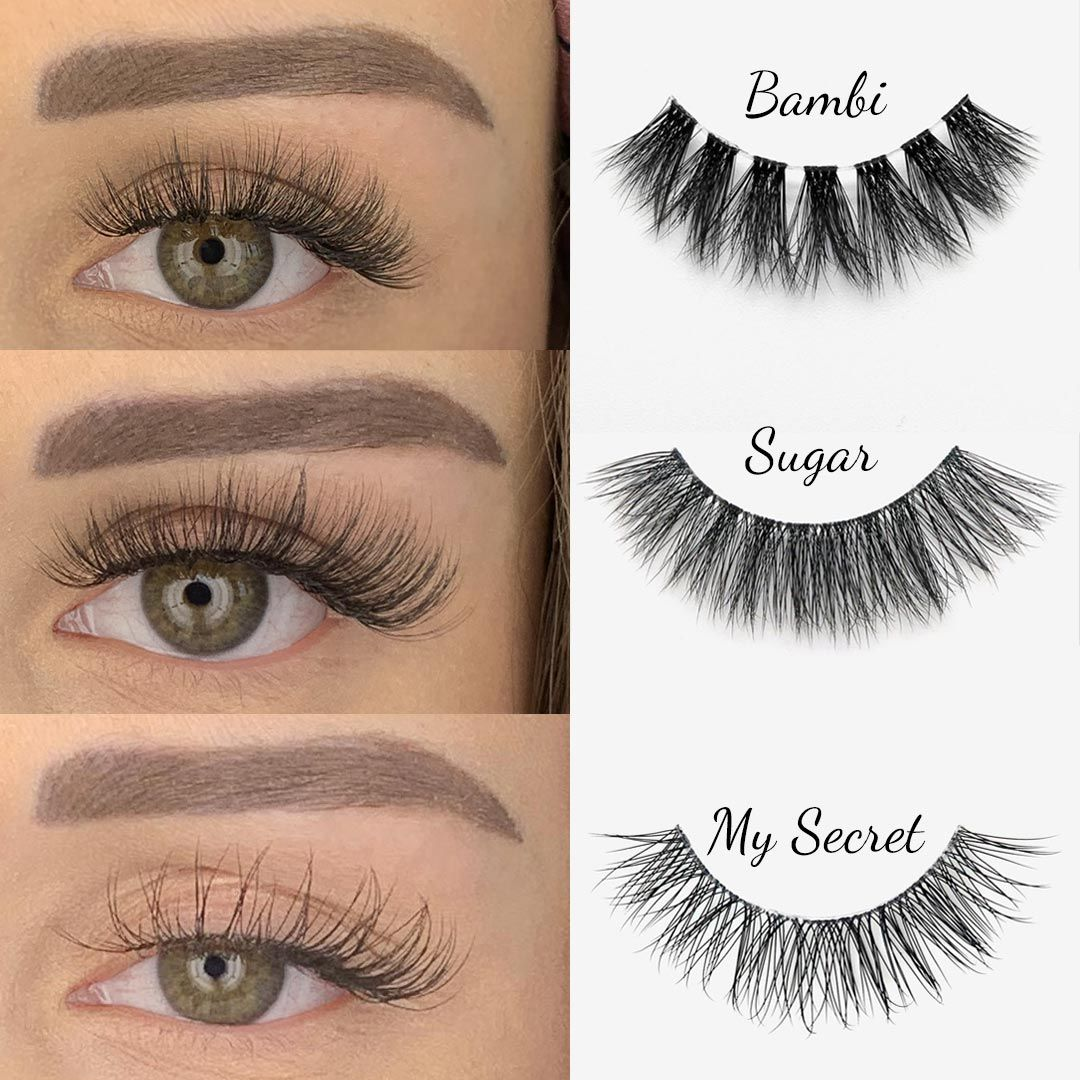 The Best False Eyelashes For Everyone! They Are Wispy