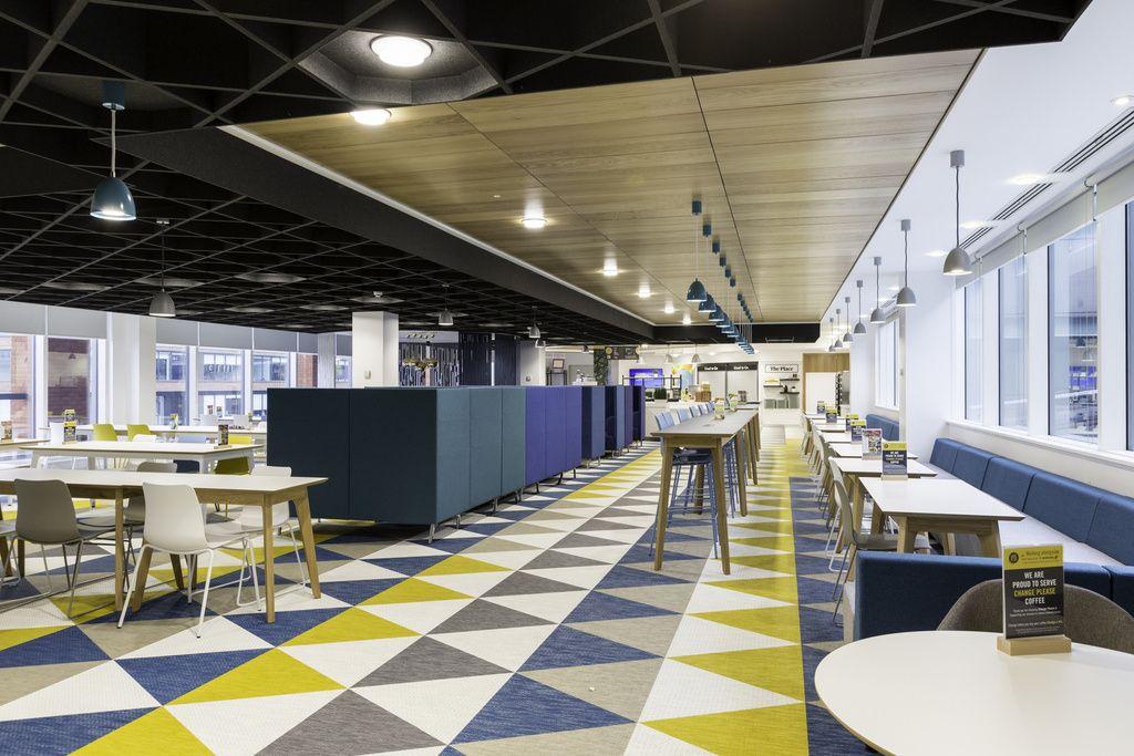 Bank Of New York Mellon Offices Manchester 10 Office Snapshots Office Interior Design Office Break Room Floor Design