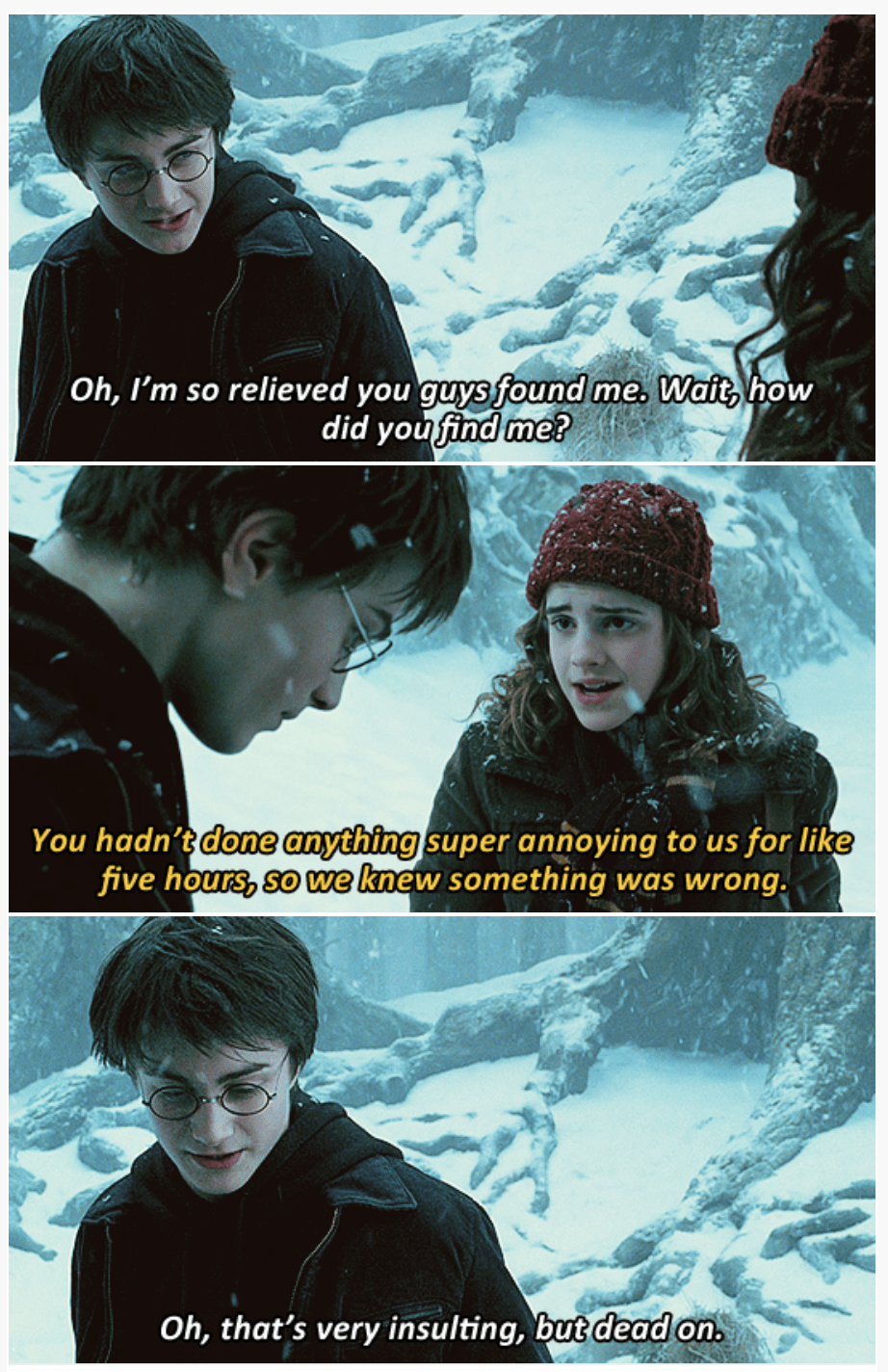 Someone Combined Harry Potter With Brooklyn Nine Nine Quotes And It S Amazing Harry Potter Scene Harry Potter Jokes Harry Potter Funny